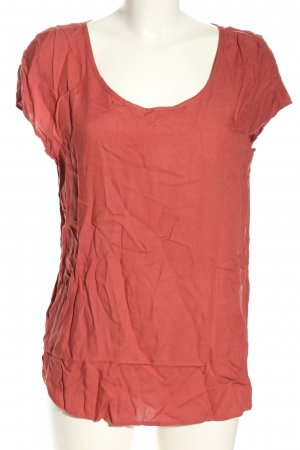 Jennifer Taylor Kurzarm-Bluse rot Casual-Look