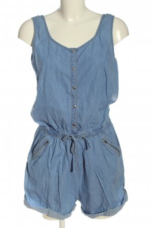Jennifer Taylor Kurzer Jumpsuit blue casual look