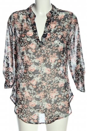 Jennifer Taylor Schlupf-Bluse Allover-Druck Casual-Look