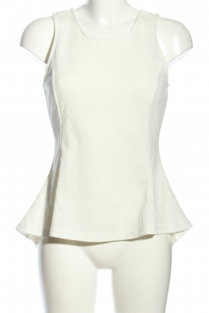 Jennifer Taylor Peplum top wit casual uitstraling