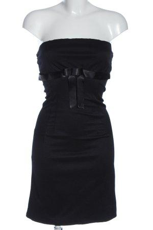 Jennifer Taylor schulterfreies Kleid schwarz Elegant