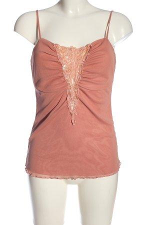 Jennifer Taylor Spaghettiträger Top pink Casual-Look