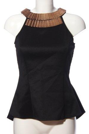 Jennifer Taylor Spitzenbluse schwarz Elegant