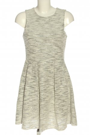 Jennifer Taylor Abito linea A bianco sporco puntinato elegante