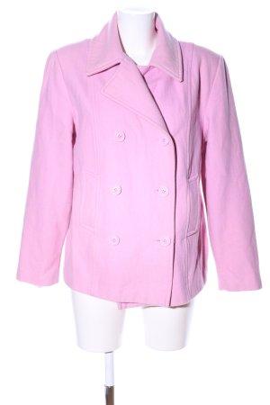 Jennifer Taylor Giacca mezza stagione rosa stile casual