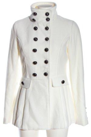 Jennifer Taylor Cappotto invernale bianco stile professionale