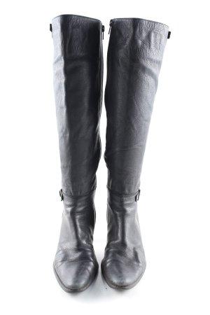 Jennifer Young Absatz Stiefel schwarz Casual-Look
