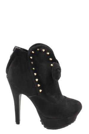 Jennika High Heels schwarz Elegant
