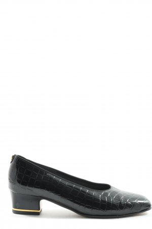 Jenny by ara Loafers black allover print casual look