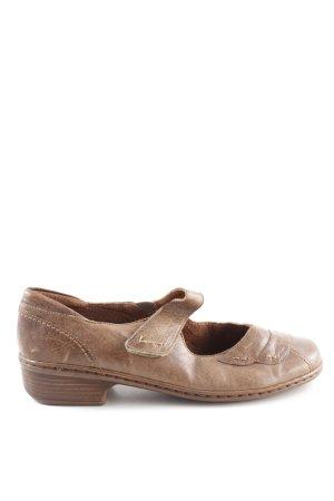Jenny by ara Mary Jane Ballerinas bronzefarben-braun Casual-Look