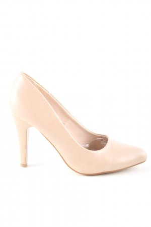 Jenny Fairy High Heels creme Business-Look