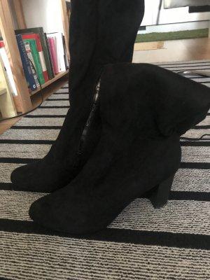 Jenny Fairy Botas sobre la rodilla negro