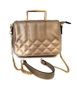 Jenny Fairy Tasche Handtasche Schultertasche gesteppt altgold