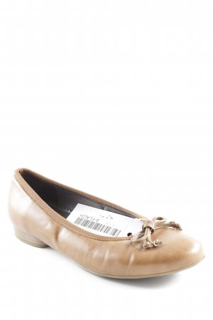 Jenny faltbare Ballerinas cognac Casual-Look