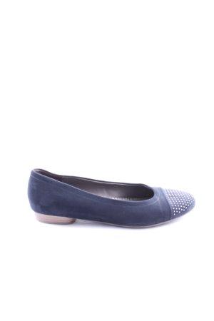 Jenny Foldable Ballet Flats blue casual look