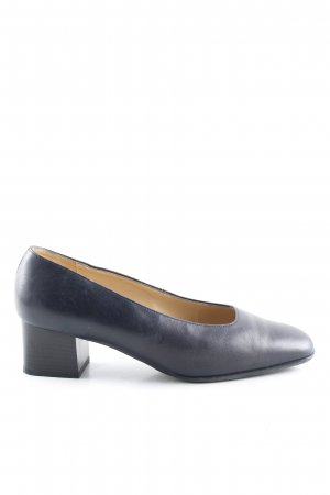 Jenny High Heels blau Business-Look