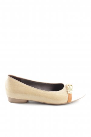 Jenny Patent Leather Ballerinas natural white-white casual look