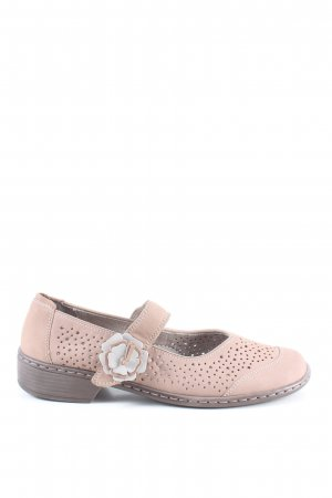 Jenny Strappy Ballerinas cream casual look