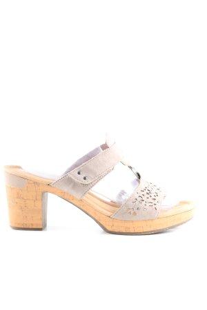Jenny Riemchen-Sandaletten hellgrau Casual-Look