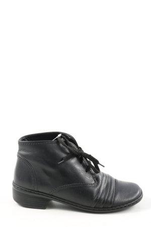 Jenny Sznurowane buty czarny W stylu biznesowym