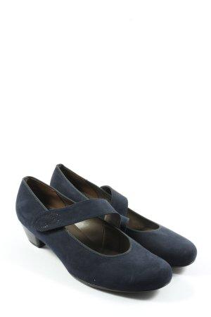 Jenny Spangen-Pumps blau Casual-Look