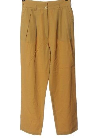 Jenny Pantalon en jersey jaune primevère style décontracté