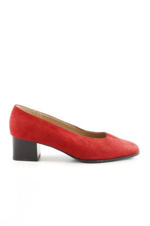 Jenny Trotteur rot-schwarz Casual-Look