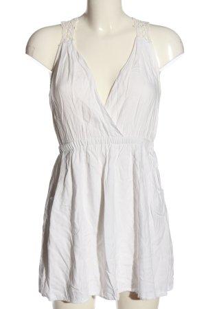 Jennyfer Blusa senza maniche bianco stile casual