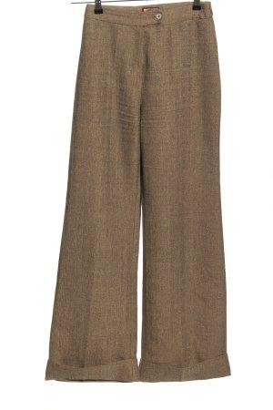 Jennyfer Pantalón de cintura alta marrón moteado elegante