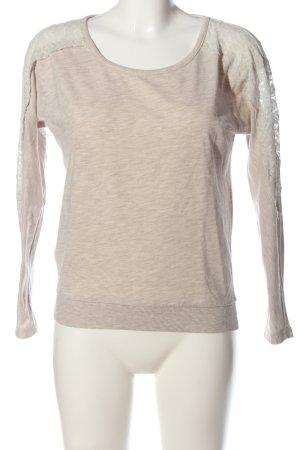 Jennyfer Camicetta a maniche lunghe rosa-bianco sporco puntinato stile casual