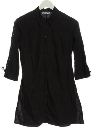 Jennyfer Camicia a maniche lunghe nero stile casual