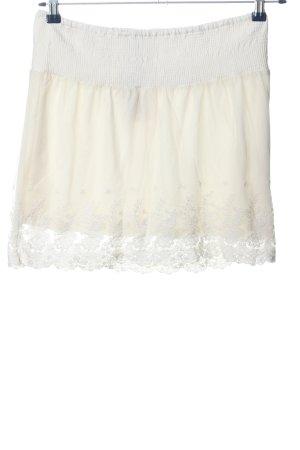 Jennyfer Minigonna bianco sporco elegante