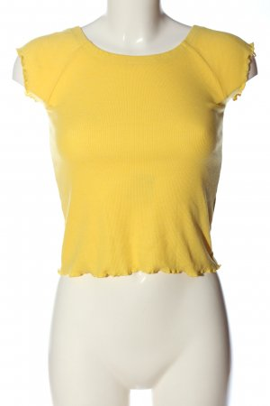 Jennyfer Geribd shirt sleutelbloem casual uitstraling
