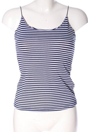 Jennyfer Spaghettibandtopje blauw-wit volledige print casual uitstraling