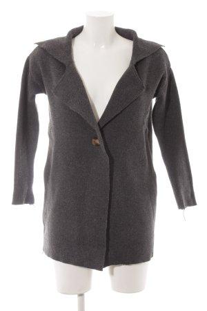 Jennyfer Giacca in maglia grigio scuro stile casual