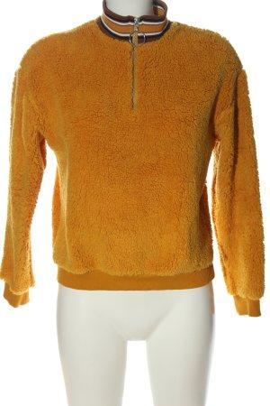 Jennyfer Maglione alla marinara arancione chiaro stile casual