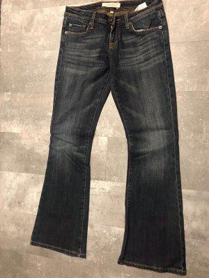 Amisu Low-Rise Trousers dark blue