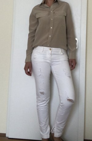 Dolce & Gabanna Low Rise Jeans white