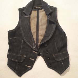 miss softy Denim Vest black