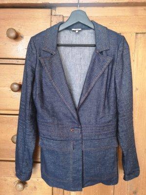 Blazer in jeans blu