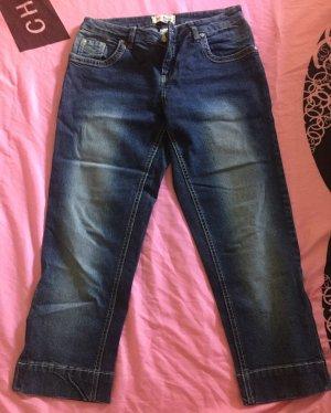 John Baner Jeans a 3/4 blu