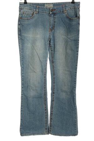 JEP'S Jeansy o kroju boot cut niebieski W stylu casual