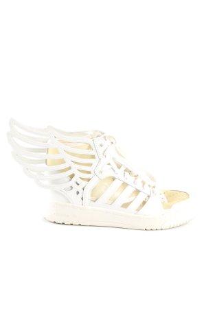 Jeremy Scott adidas High Top Sneaker weiß Casual-Look