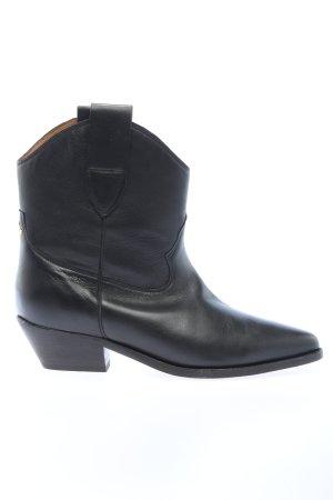 "Jérôme Dreyfuss Ankle Boots ""Sabine Leather Ankle Boots"" black"