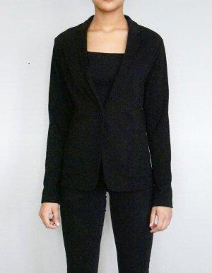 Uniqlo Jersey blazer zwart