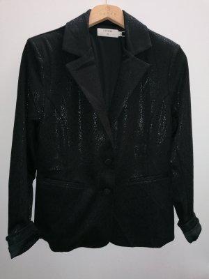 Cream Jersey Blazer black polyester