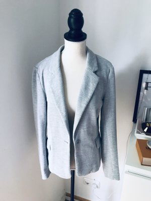 Vero Moda Jersey Blazer light grey-grey cotton