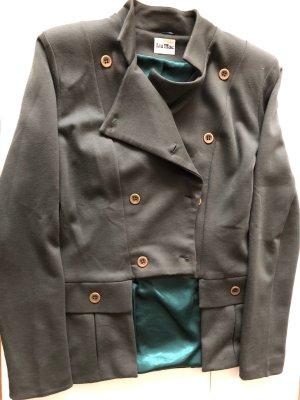 Jersey Blazer in grün von Lia mae