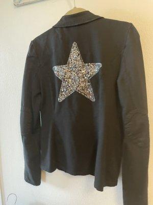 Lacomo Blazer in jersey nero