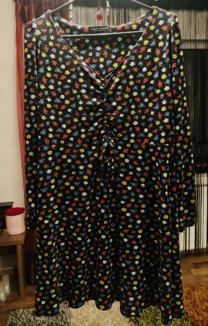 Jersey Blümchen Kleid